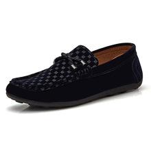 Giày moka nam thời trang, thiết kế phối màu cổ điển, nam tính