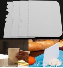 4pc烘焙刮板套装 烘焙蛋糕基础工具 OPP简装