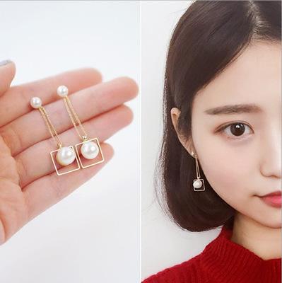 Khuyên tai nữ, dáng dài, thiết kế cá tính, phong cách Hàn Quốc
