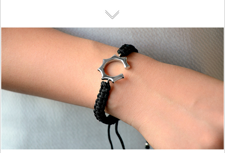 TitaniumStainless Steel Simple  bracelet  red  Fine Jewelry NHOK0504red