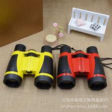 晶輝廠家5x30熱銷戶外探索兒童玩具 定做單筒雙筒玩具望遠鏡