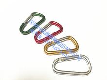 专业生产铝合金登山扣 不锈钢登山扣 弹簧钩 铁?#23454;?#23665;扣 连接环