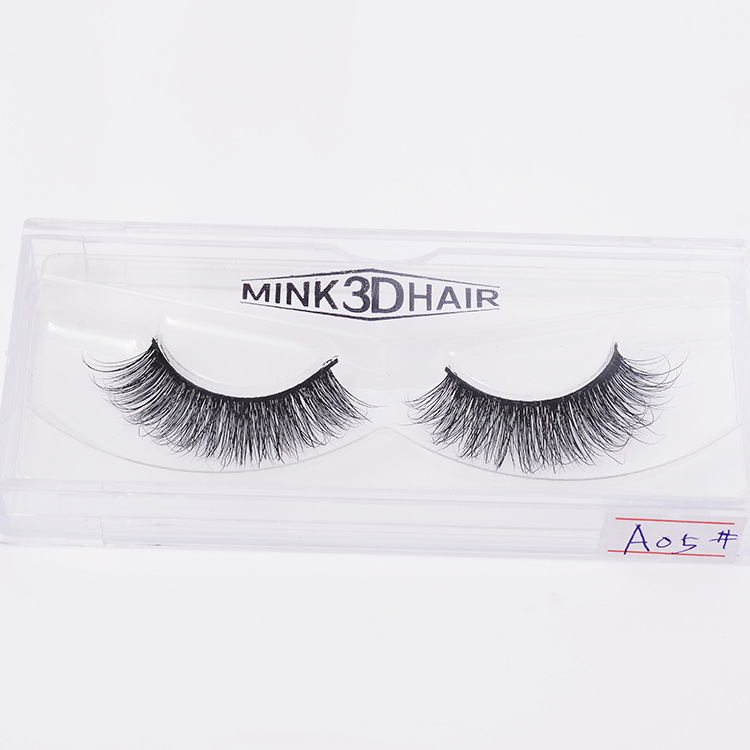 Leather Fashion  Fake eyelashes  (3D mink hair SA05) NHXH0193-3D-mink-hair-SA05