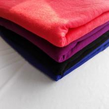 批发定做 针织人棉环锭纺单面汗布人棉拉架面料