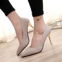 Giày nữ cao gót thời trang, màu sắc hiện đại, kiểu dáng trẻ trung