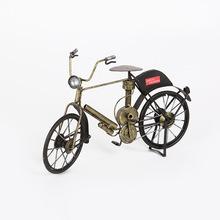 手工复古老式 自行车 摆件铁艺模型 创意礼品家居装饰品现货批发