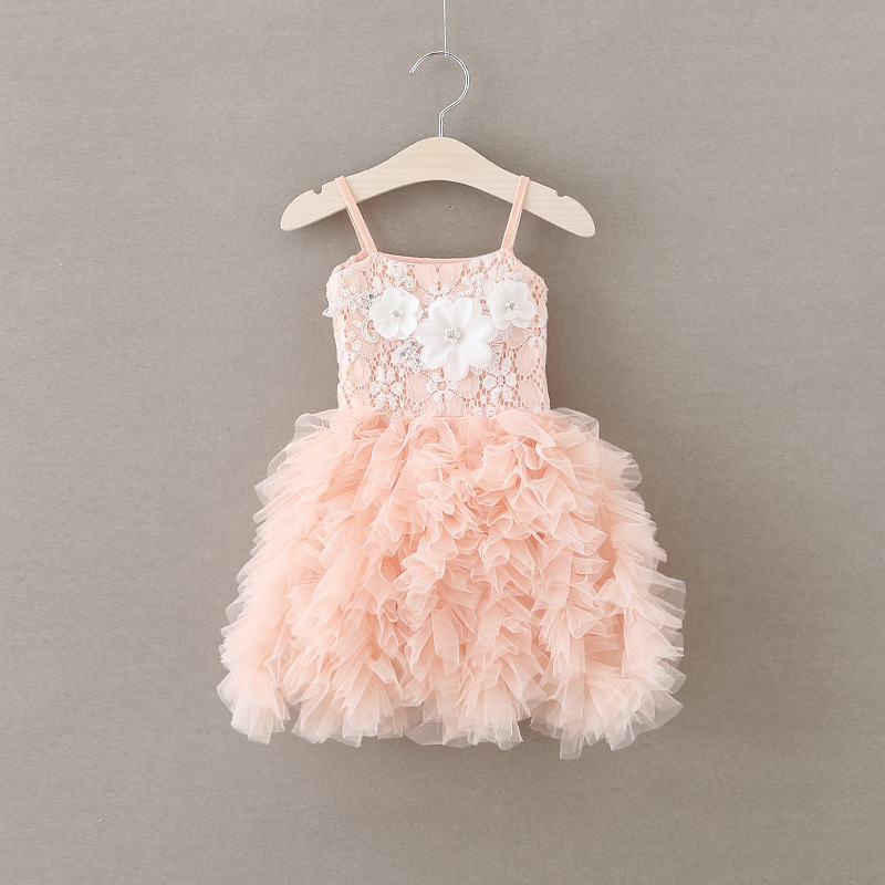 305c5266b5bf 2019 Dresses For Girls Kids Clothes Suspender Cotton Fashion ...
