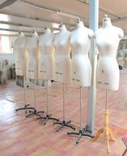 欧美女上半身立体裁剪人台打版设计专用标准 服装立裁模特