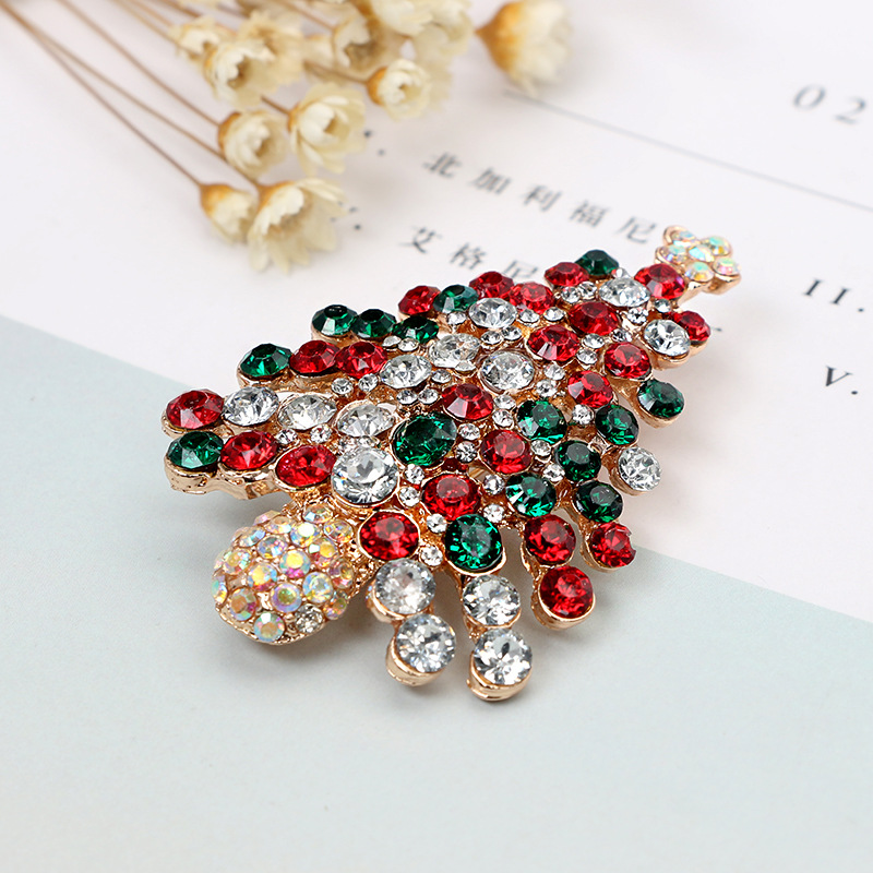Fashion Alloy plating brooch Tree (Main picture)NHGY1577-Main picture