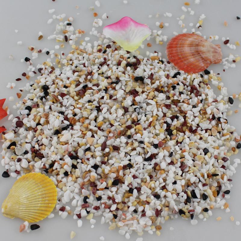 广州鹅卵石在哪里 艺术沙景造景用五彩天然砾石 找鹅卵石图片