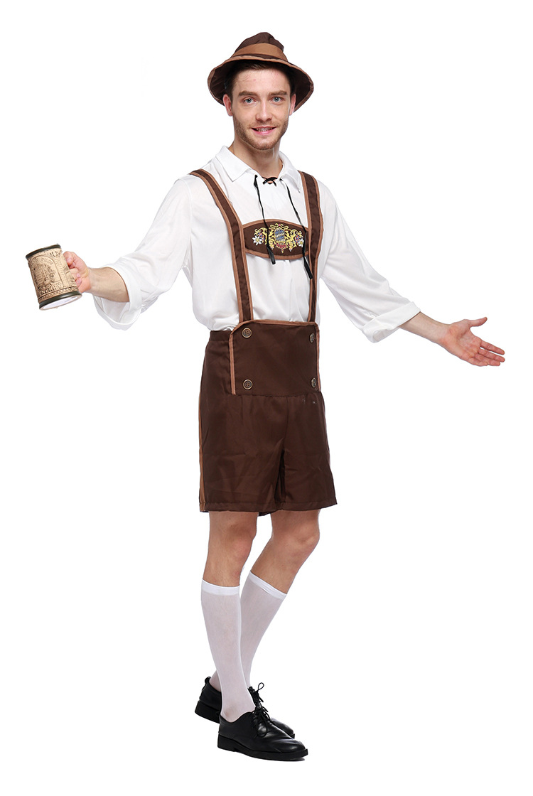 Halloween German Oktoberfest Costume Adult Carnival Performance Costume NHFE153918