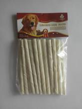生产销售 5英寸牛皮漂白皮卷20支/装 耐咬实惠宠物 狗狗零食特价
