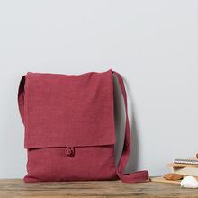 庸庸布包厂家直销原创女包新款复古棉麻包包女式包包单肩包