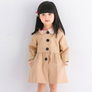 2017 cotton T-shirt girl windbreaker long coat in autumn and winter coat wholesale on behalf of Korean explosion