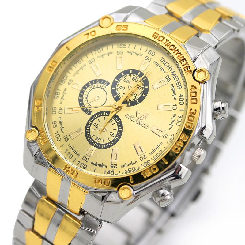 Заумный отношения больше ювелир легированная сталь с рукой стол мужчина европа и америка аксессуары мужской наручные часы мода мужские часы продаётся напрямую с завода