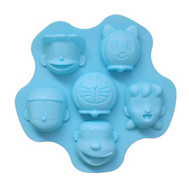Family photo mobilization time robot cat childhood memories of silica gel cake mold silica gel handmade soap mold