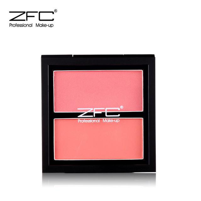 ZFC名师系列花漾丝柔腮红持久粉嫩胭脂裸妆自然双色立体腮红彩妆