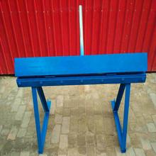 销售手动圆管合缝机 烟筒折口机 白铁皮烟筒管折弯机