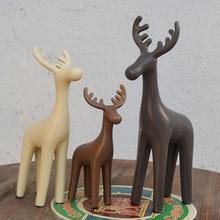 小鹿陶瓷工艺品卧室陶瓷摆件现代北欧风格客厅卧室创意家居装饰品