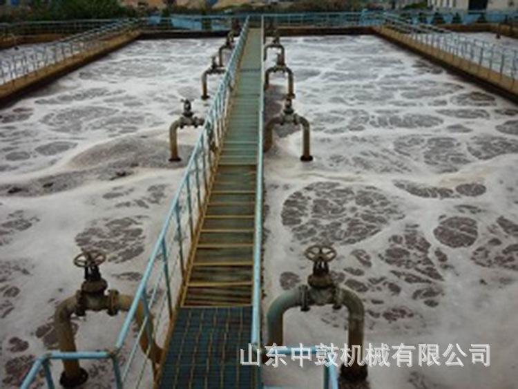 污水处理曝气池现场9