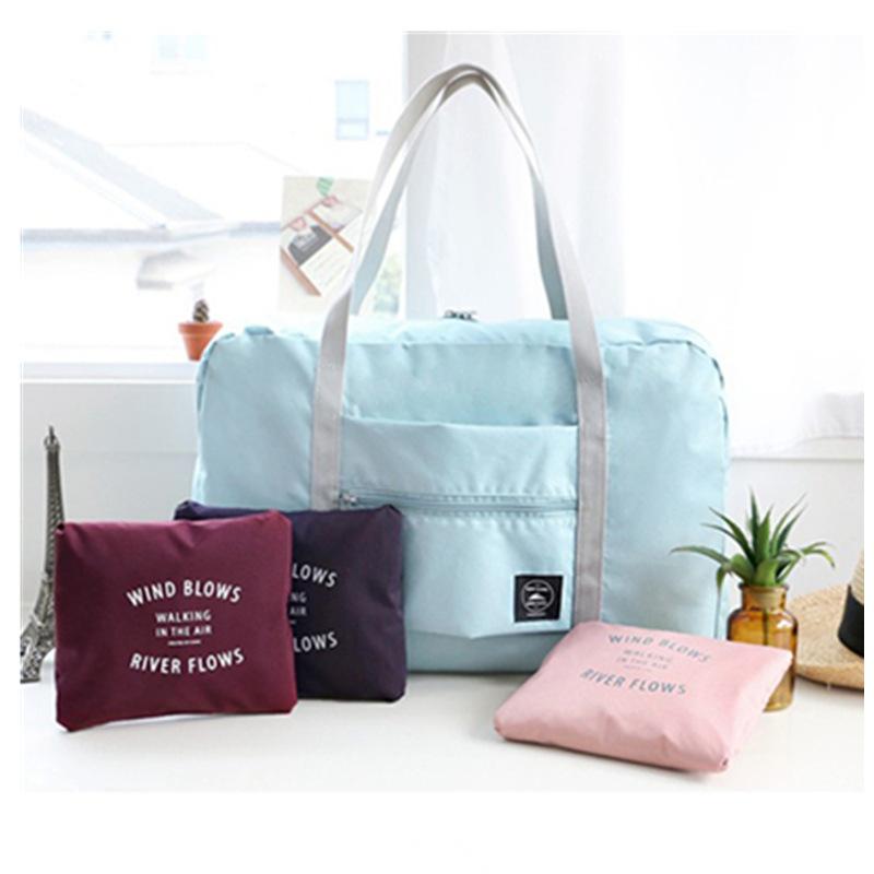 韩版可折叠旅行袋包行李包搬家飞机包男女整理袋行李包收纳袋