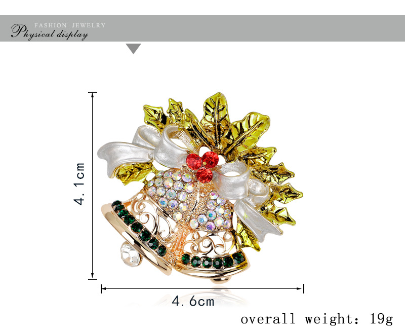 Occident and the United States alloy plating brooch (AL047-A)NHDR1876-AL047-A