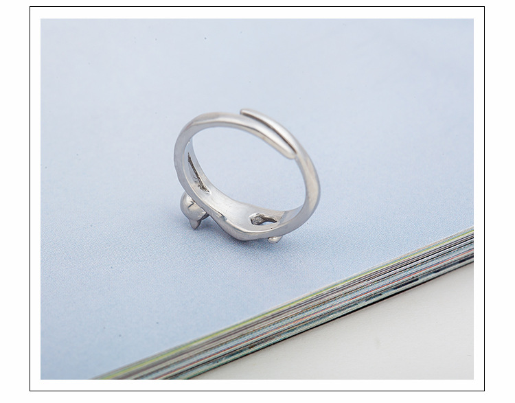 Animal opening cat ring stereo adjustable NHDP171424