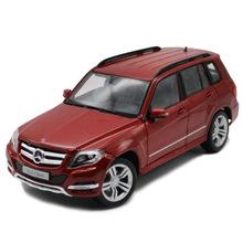 美驰图 1:18仿真合金汽车模型车奔驰GLK-CLASS越野车模型红色收藏