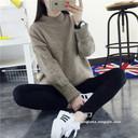 Áo len nữ thời trang, chất dày, dáng rộng, màu sắc trẻ trung
