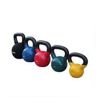 提壺啞鈴 健身房健身彩色浸塑壺鈴KettleBell杠鈴多規格