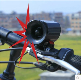 Bicycle 142 horn Bicycle horn Loud sound electronic horn Bicycle horn Bicycle bell horn
