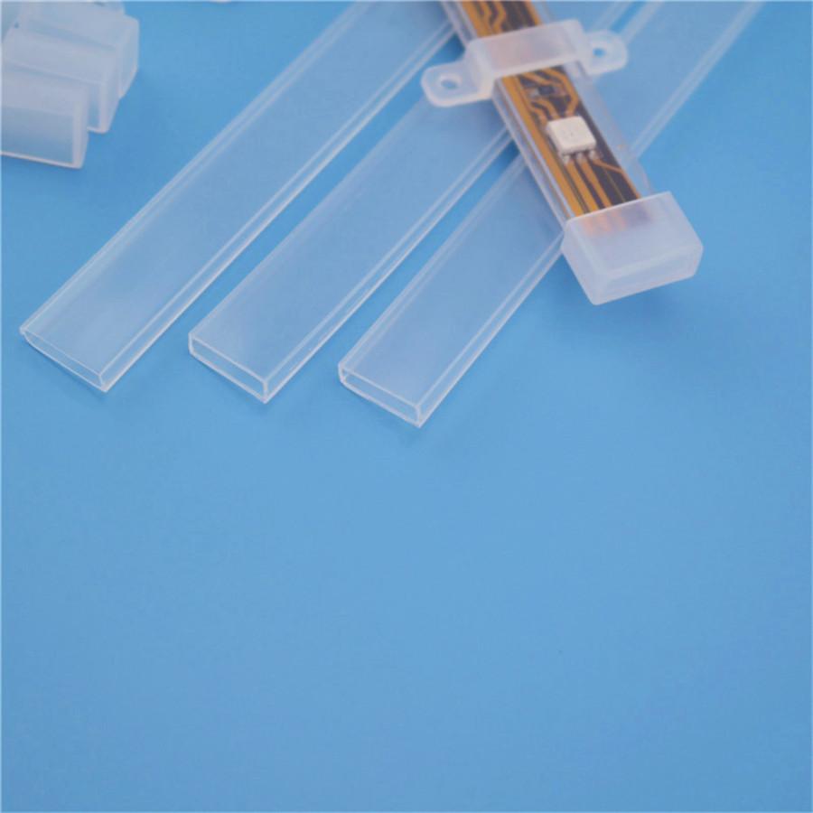 厂家现货直销LED软灯条硅胶套管  不带线5050防水套管价格实惠