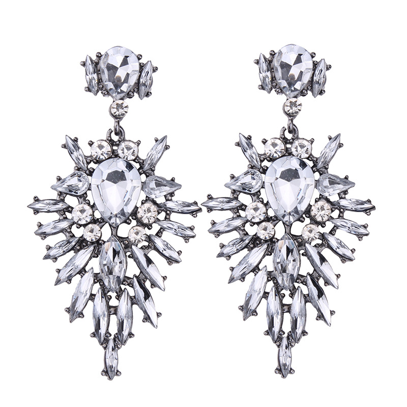 Occident alloy Pear Earrings ( color ) NHJQ5968