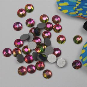 Flat bottom multicolor flame colored diamond nail drill accessories DIY accessories