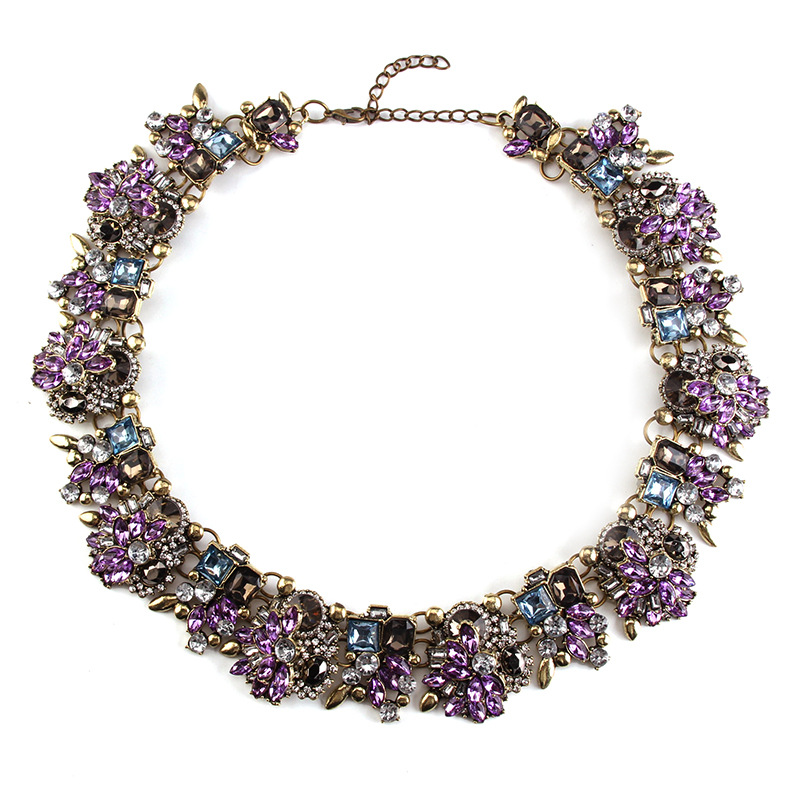 Occident alloy Geometric necklace ( color ) NHJQ4117