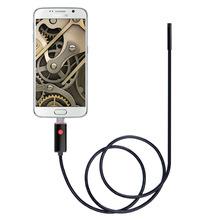 8mm高清200万安卓手机电脑二合一接口防水内窥镜管道汽修2/5/10米