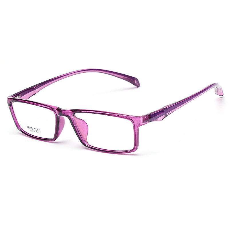 1182TR超轻塑钢平光眼镜架 防紫外线电脑护目平光眼镜批发