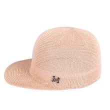 帽子韩版夏季新款亚麻草纱女士遮阳帽马术帽时尚凉帽一件代发