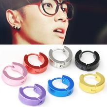 韩版时尚EXO男生款耳环 华晨宇同款男士耳扣 钛钢耳钉耳饰品批发