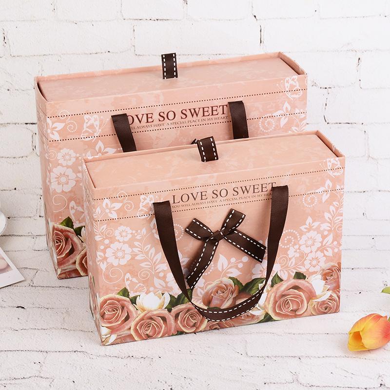 现货手提抽屉盒  抽屉盒  礼品盒定做  现货手提内衣盒  礼品盒
