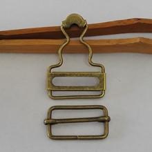 背带扣 现货小批铁质金属牛仔背带裤扣子 活动调节扣 吊带葫芦扣