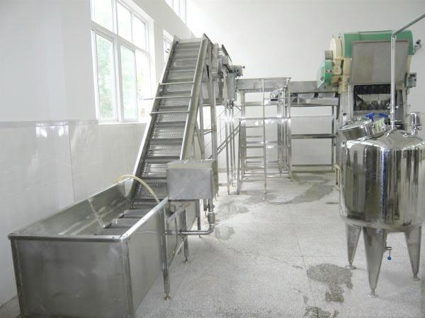 果汁果酱生产线前处理设备