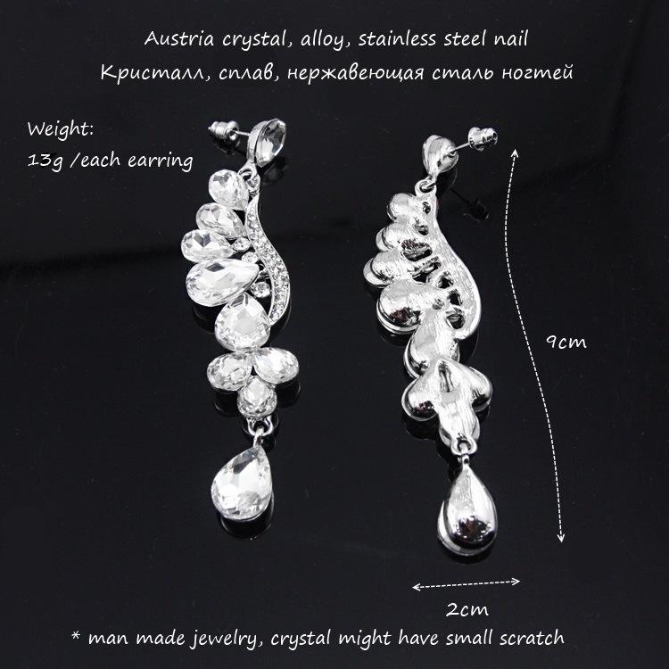 Alloy Fashion Flowers earring  white  Fashion Jewelry NHAS0583white