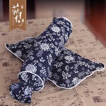 颈椎枕 枕头 蕲艾绒枕头 艾绒颈椎枕 糖果枕 定制加工 厂家直销