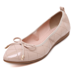 Pink rhyme ballet shoes