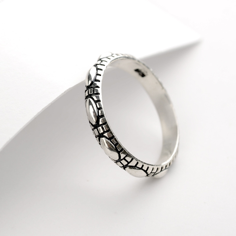 Korea style silver plating Ring (Silver -18)NHLJ3386-Silver -18