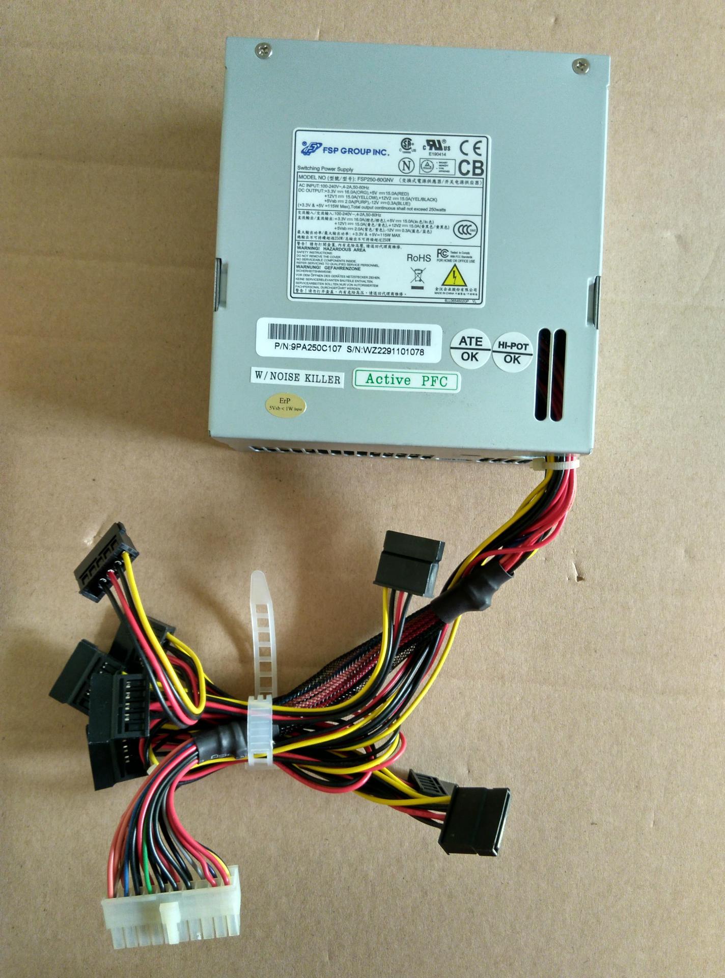 全汉FSP250-60GNV,FSP150-10GSV,FSP200-50GSV SFX安防录像电源