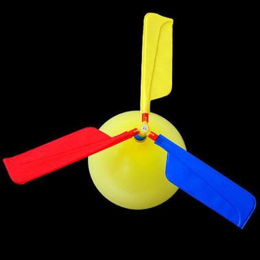 热卖气球飞机/ 气球直升机 气球飞碟 快乐飞飞球 儿童创意玩具