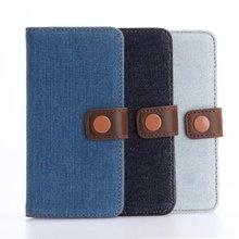 适用于iPhoneXS Max保护套8Plus牛仔布纹相框钱包皮套note9索尼Z3