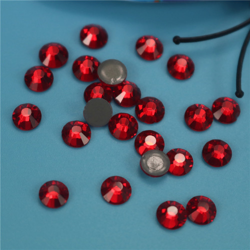 Rhinestones red glass hot drill Nail Drill DIY clothing accessories mobile phone accessories